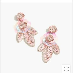 J. Crew Bead and Sequin Earrings